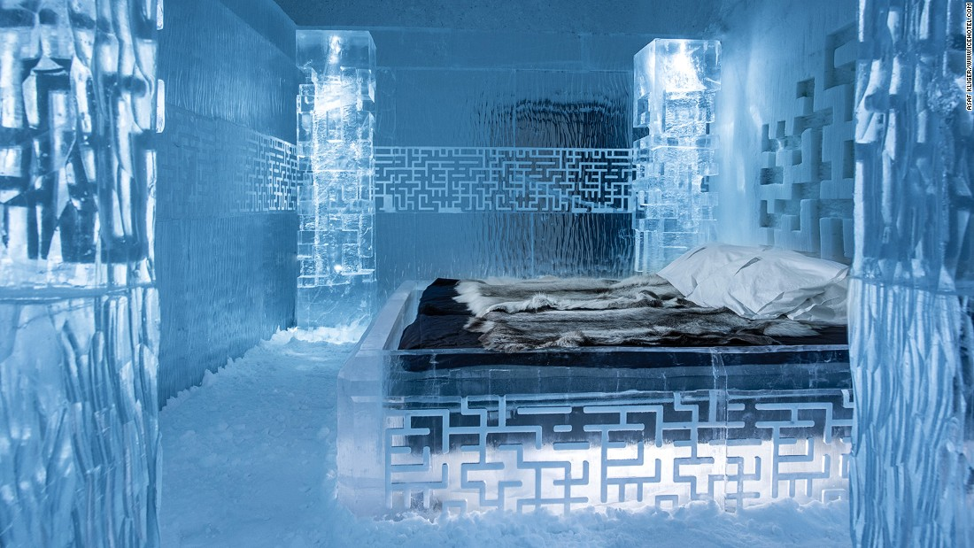 7. You Can Sleep in a Ice Hotel