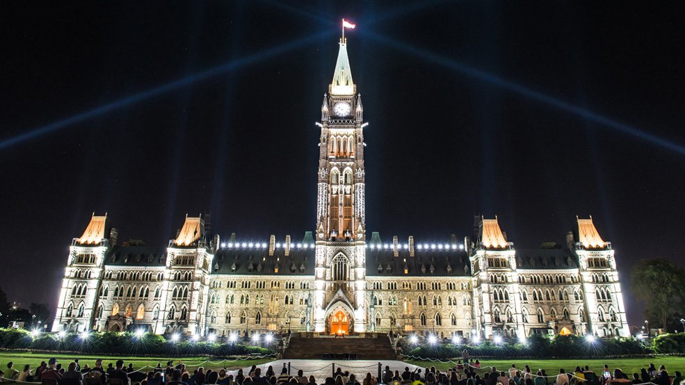 1. That You Can Do Yoga on Parliament Hill